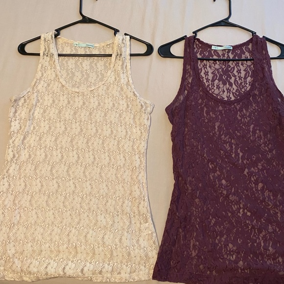 Maurices lace tanks
